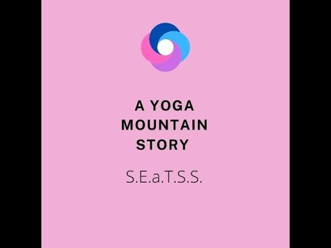 Screenshot of video: SEATSS does Yoga- Amanda and her Grandson - Family Yoga