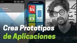 Cómo hacer prototipos funcionales de apps iOS o Android Apréndelo aquí usando