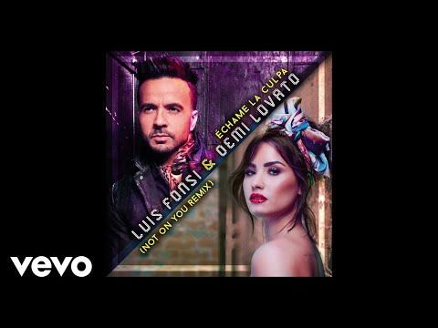 Luis Fonsi Demi Lovato Échame La Culpa Not On You Remixofficial Audio