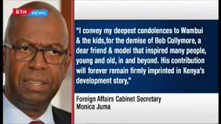 Developing: Safaricom CEO, Bob Collymore Eulogized as a shrewd leader after his death this morning