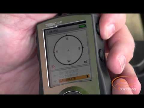 SportDOG Tek Series - How to Calibrate Your Compass on Your TEK Series