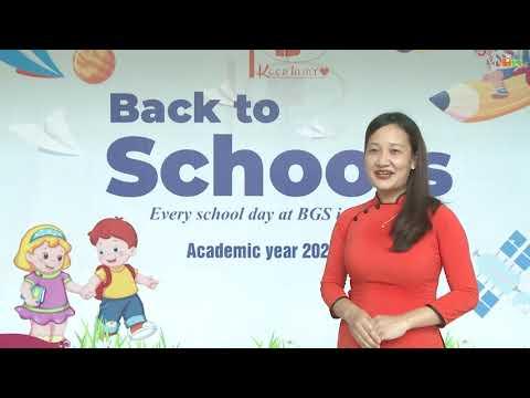 Lời chúc khai giảng năm học 2020-2021 - Trường Mầm non Thăng Long