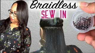 Braidless Sew In w/ Microlink Extensions  💗 DETAILED TUTORIAL 💗