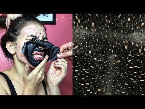 Das Salz reinigt die Gesichtshaut