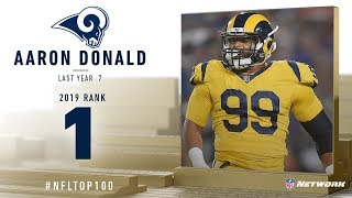 #1: Aaron Donald (DT, Rams) | Top 100 Players of 2019 | NFL