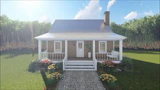 COUNTRY HOUSE PLAN 348-00259