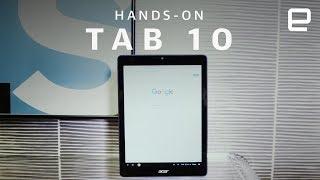 Acer Chromebook Tab 10 Hands-On