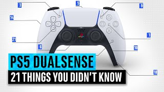 PS5 DualSense | 21 Things You Didn't Know about the PlayStation 5 Controller