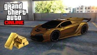 GTA 5 Online - Two Gold Paintjob Tutorials