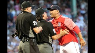 MLB 2018 August September Ejections