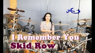 [NEW] SKID ROW - I Remember You drum cover by Ami Kim (#65)