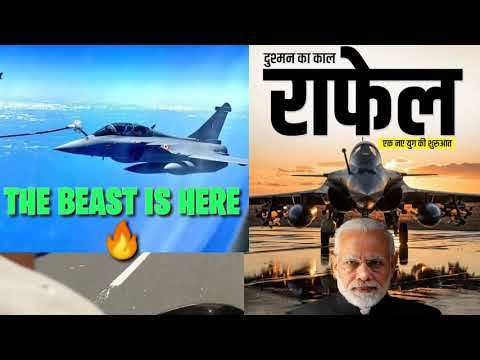 Rafale Fighter jet.🔥Arrived in india 🚀The Beast♥️