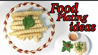 FOOD PLATING IDEAS~PLATING FOOD TECHNIQUES~HOW TO PLATE FOOD~Jenn TV