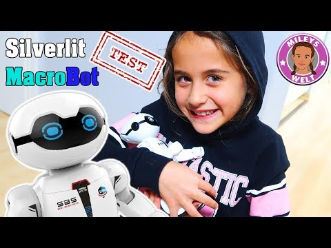SILVERLIT MACROBOT Roboter im Test - ein elektronischer Freund ? | Mileys Welt