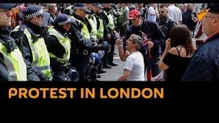Demonstrators Take To Streets In London In Commemoration Of Mark Duggans Killing By Police