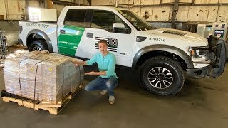 Unboxing My Border Patrol Ford Raptor