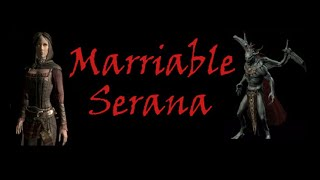 TES V Skyrim (Marriable Serana) #45. Женитьба на Серане