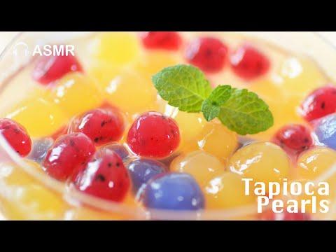 , title : '手工水果粉圓【沒有人工色素】天然水果Tapioca Ball Boba Drinks Recipe
