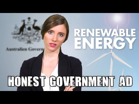 Honest Government Ad   Renewable Energy