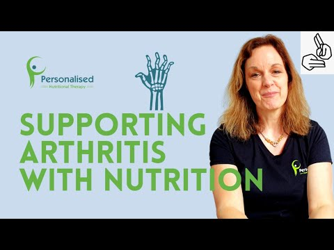 Supporting arthritis with nutrition (BSL)
