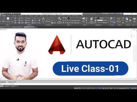 AutoCAD | Live Class-01
