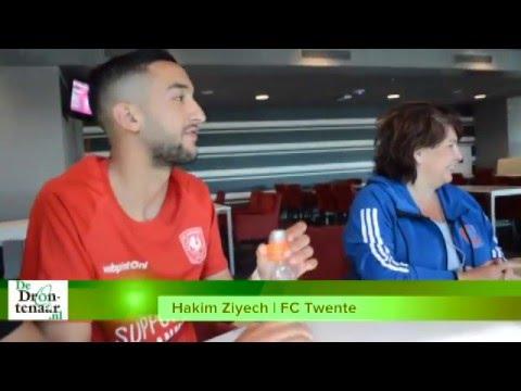 VIDEO | Hakim Ziyech over zijn toekomst en de titelstrijd tussen PSV en Ajax