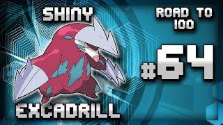 Drilbur  - (Pokémon) - SHINY EXCADRILL! #64 Road to 100   DEXNAV Cave Shiny   Pokemon Omega Ruby Alpha Sapphire