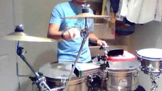 Marc Anthony - Hasta que te conoci cover timbal