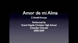 "Video thumbnail of ""Amor de mi Alma"""