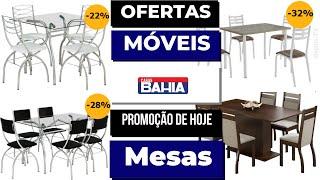 CASAS BAHIA OFERTA DO DIA MÓVEIS MESAS Promoção De Hoje 2019 Sala De Jantar | SOPHIA TV