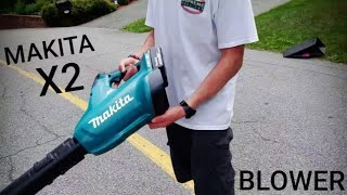 Makita (XBUO2Z) 18V X2 LXT Lithium Ion (36V) Brushless Blower Review