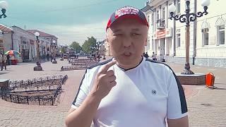 """""""Читаю на Арбате...""""  Бурятский поэт Юрий Ботоев читает на """"Арбате"""" в г. Улан-Удэ"""