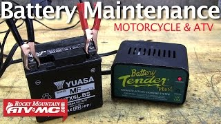 Motorcycle Battery Maintenance - How to Extend the Life of Your Battery