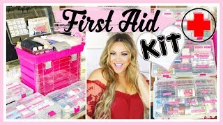 FIRST AID KIT | SYSTEMS AND ORGANIZATION FOR FAMILY OF 6
