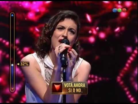 Cuartos de final: Victoria canta «One and only» – Elegidos  Victoria Bernardi #Elegidos