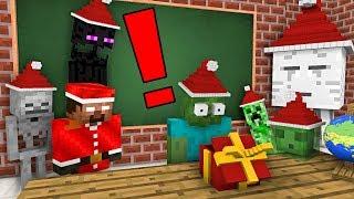 Monster School: EPIC CHRISTMAS PRESENT - Minecraft Animation