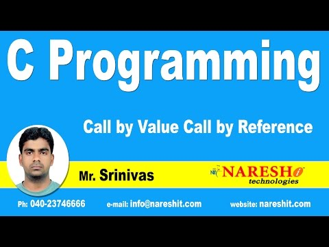 Download Pointers - Call by Value Call by Reference | C Language Tutorial