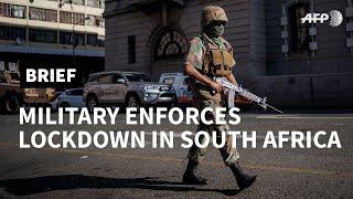 Coronavirus: Lockdown in South Africa | AFP