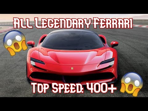 This Is The Top Speed Of The Fastest Ferraris In Forza Video Autoevolution