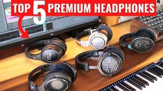 Top 5 Headphones - Premium Headphones for Music Studios