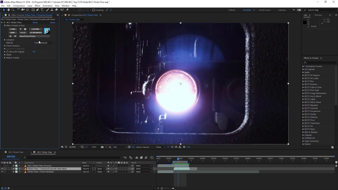 Boris FX | Continuum Image Restoration