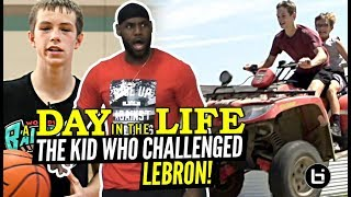 """""""The 14 Year Old Who CHALLENGED LeBron!"""" Gabe Cupps Is NOT Your Average HOOPER!! Day In The Life"""