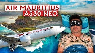 Air Mauritius Airbus A330neo Flying Experience
