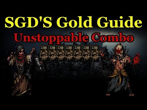 Download SGD Plays Darkest Dungeon | Gold Guide Flagellant Antiquarian Combo + Shambler HD Mp4 3GP Video and MP3