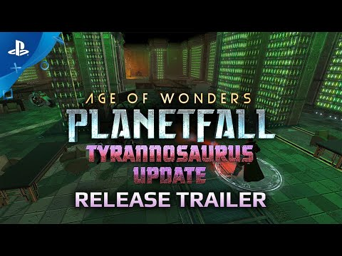 Age of Wonders: Planetfall Unleashes Tyrannosaurus Update on PS4 Today