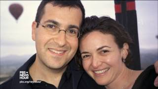 After life-shattering loss, Sheryl Sandberg reaches out to others in grief