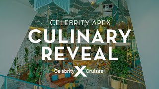 Celebrity Apex: What to Expect when Dining on Apex