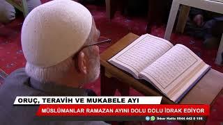 Müslümanlar Ramazan ayını dolu dolu idrak ediyor