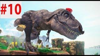 Super Mario Odyssey прохождение №10 (мир 4) - погоня тиранозавра