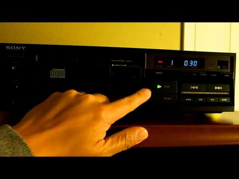 Sony CDP-101, First CD Player on the market